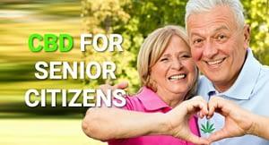 CBD for seniors pain image