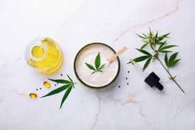 CBD topical and oil image